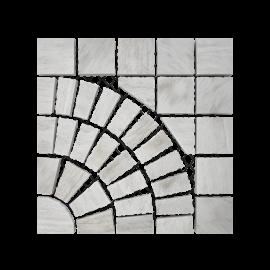 Pasinato EasyStone Square with Circle - White Quartzite